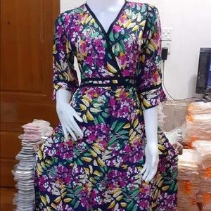 Cotton dresses from Myanmar country